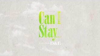 4月25配信限定楽曲「Can I Stay...」リリックビデオ公開