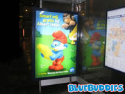AH Grote Smurf Poster