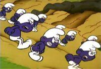 Paarse Smurfen tekenfilm