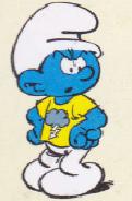Driftige Smurf