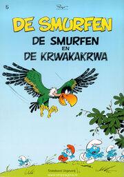 De Smurfen en de Krwakakrwa voorkant
