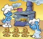 De Gemberkoek Smurfen