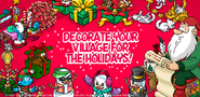 Decorate in your village for the holidays!