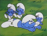 Lazy And Smurflings