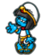 Cleopetra smurfette