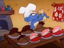 Greedy Frosting Funny Cakes (Tick Tock Smurfs)