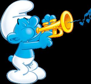 Image harmony smurfs wiki fandom powered - Schtroumpf musicien ...