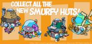 Smurfy huts