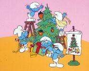 Smurf christmas
