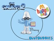 The Smurfs 2 happy meal brainy