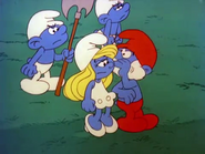 Papawhisperssomethingtosmurfette