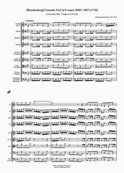 Brandenburg Concerto No2