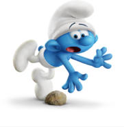 Clumsy Smurf 2017Movie