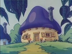 Smurf House Cartoon