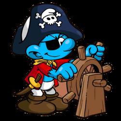 Pirate smurf icon-300x300