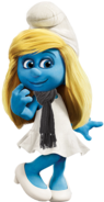 Smurfette with Scarf