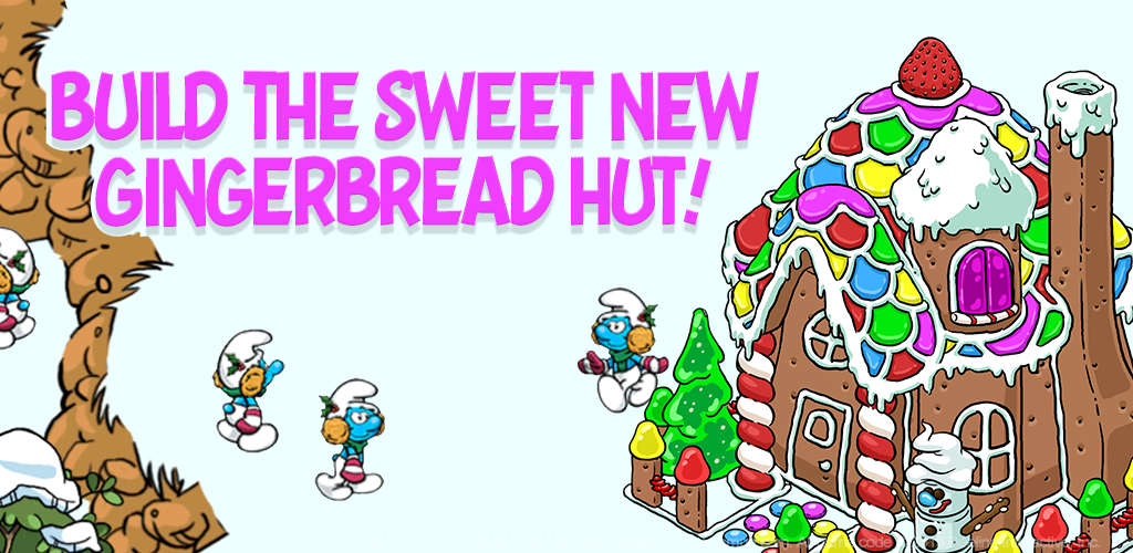 New Gingerbread Hut