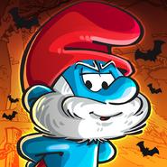 Papa Smurf Halloween Icon SV 2018