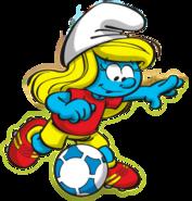 Smurfette Soccer