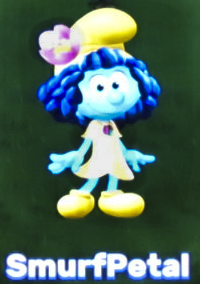 A little smurf is insided in her hope papa smurf will find the lost one - 2 7