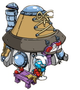 Cobber Smurf´s Space Hut