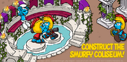 Construct the Smurfy Coliseum