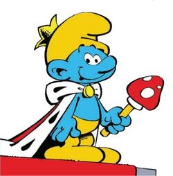 King Smurf Comic Book