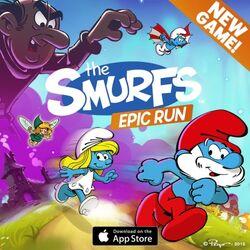 Smurfs Epic Run Advert