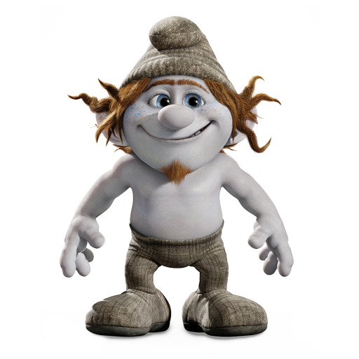 Hackus as a Naughty in The Smurfs 2