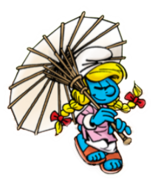 Smurfette Umbrella SEP