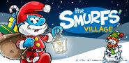 Papa Smurf Christmas Banner SV 2017