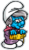 Smurf nanny