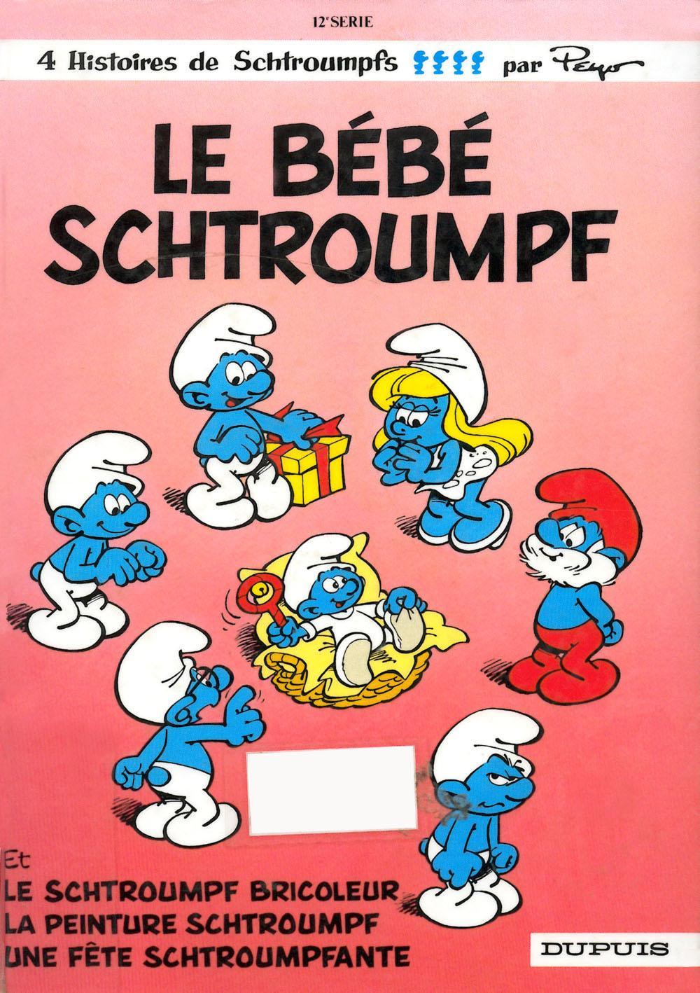 The Baby Smurf Comic Book Smurfs Wiki Fandom Powered By Wikia