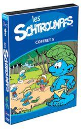 Les Schtroumpfs Coffret 5 (Region 1 DVD)