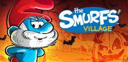 Papa Smurf Halloween Banner SV 2018