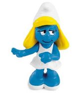 Smurfette Bowing