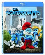 Les Schtroumpfs Blu-ray cover