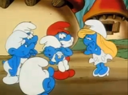 Baby Smurf Sleeping- Season 3 intro