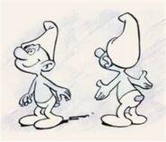 1958 Smurfs No Color