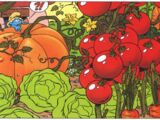 Farmer's magic vegetables (Salad Smurfs)