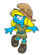 Adventuress Smurfette