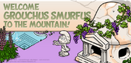 Grouchus Smurfus to the mountain