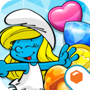 Smurfettes-magic-match-icon2