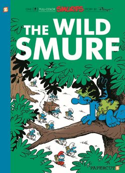 The Wild Smurf English Cover