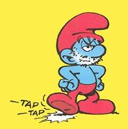 Papa Smurf Shaved