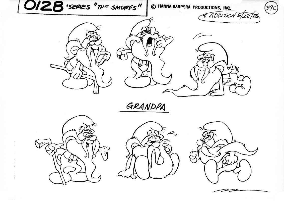 Magnífico Smurfs Para Colorear Adorno - Ideas Para Colorear ...