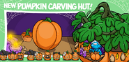 New Pumpkin Carving Hut!