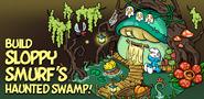 Build Sloppy Smurf hut