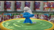 Smurf In Green Goop