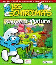 Les Schtroumpfs Sauvent La Nature Cover